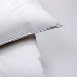 Påslakan Rand vit i vit Stilig 150 x 230_2 pack