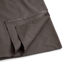 Underlakan i kammad bomull grå 150 x 160 cm