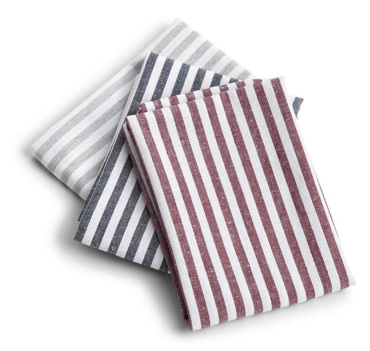 Kökshandduk Stripe 12 pack