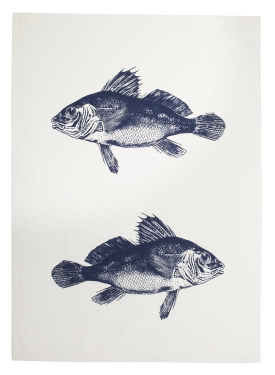 Fiskar kökshandduk