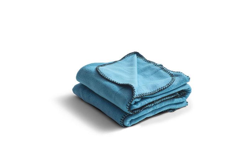 Poncho i fleece