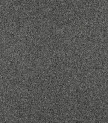 Ribb mørk grå melange