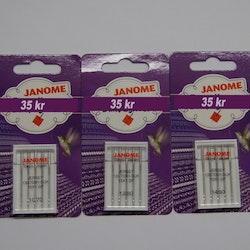 Janome symaskin nål  for JERSEY