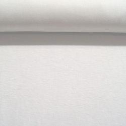 Bomull Jersey hvit x-bredde