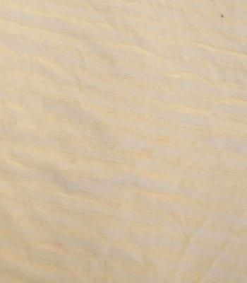 Viskose Jersey med gul striper