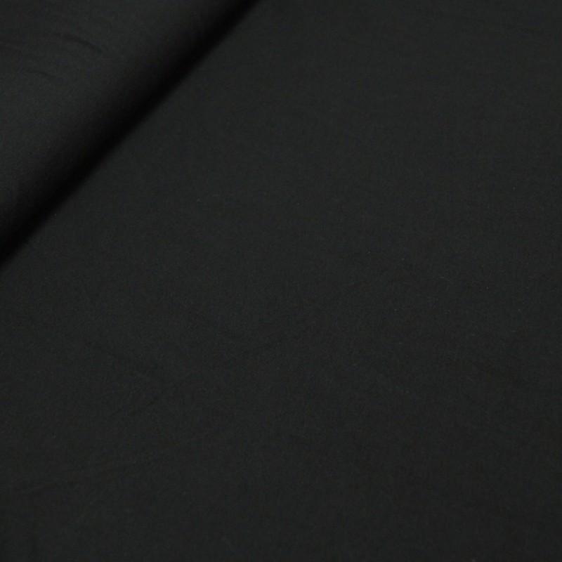 Bomull Jersey svart XL-bredde