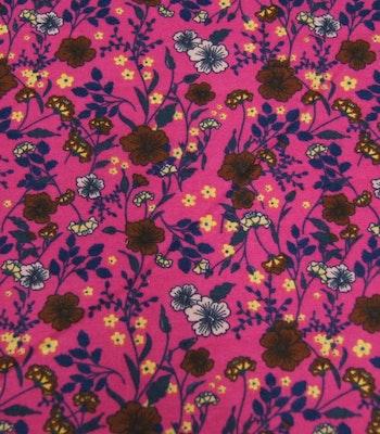 Bomull Pazen (flanel) sommer lilla