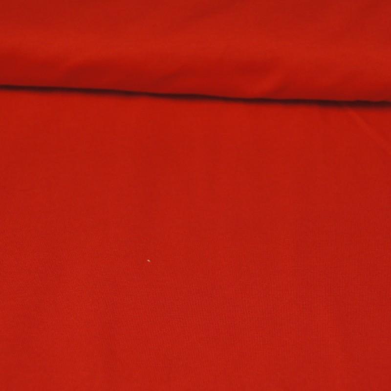 Bomull jersey rød