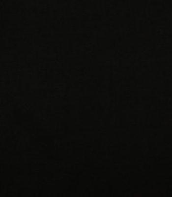 Bomull Jersey svart