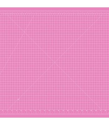 Skjærematte Rosa/Lilla 90 x 60 cm