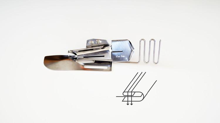 kantbåndsapart 42mm 3 bretter