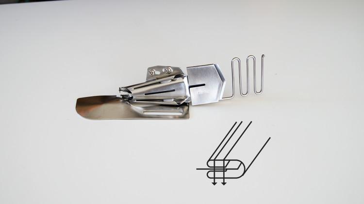 kantbåndsapart 45mm 4 bretter