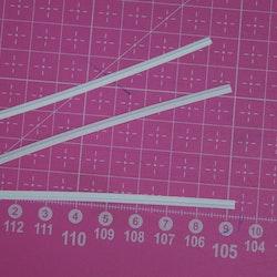 Nesebøyle for munnbind 9 cm (10 stk)  i pakke