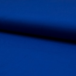 Bomulls poplin Royal blå