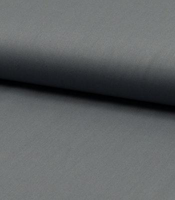 Bomulls poplin lys grå