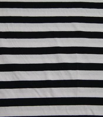 Bomull jersey striper