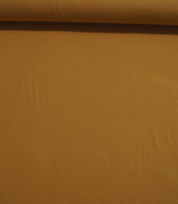 Viskose Jersey Gyllen Brun XL