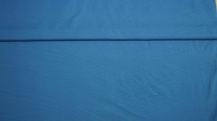 Bomull Jersey Blå XL