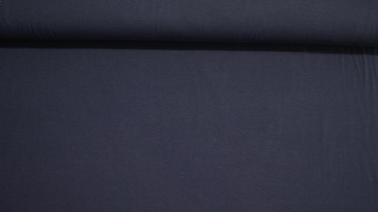 Modal Jersey Mørk Blå Melert XL