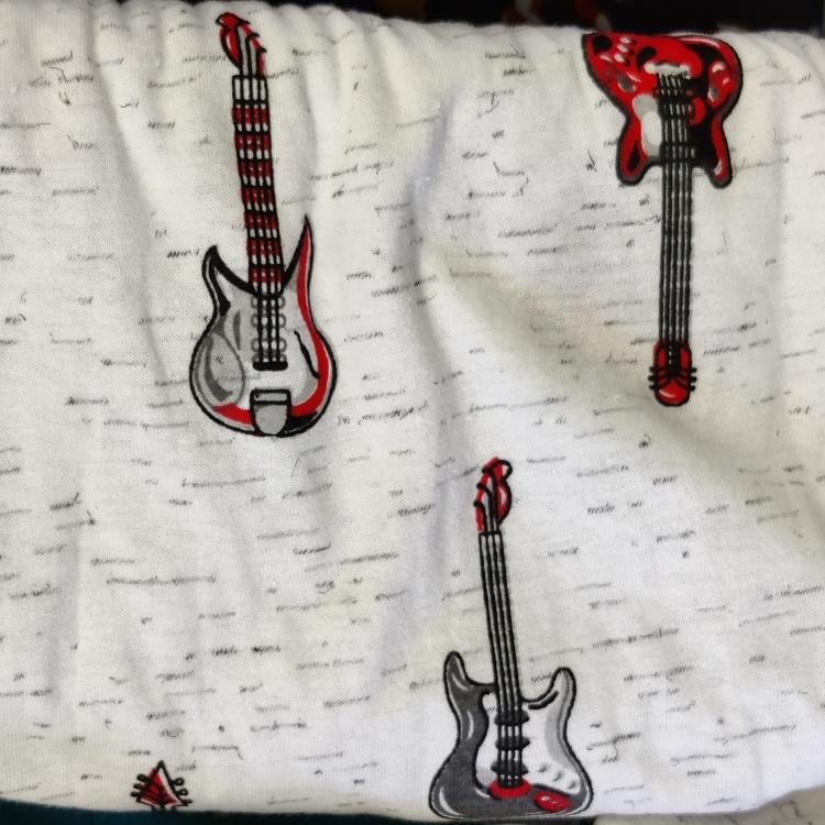 Bomull jersey Gitar