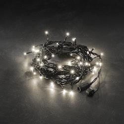 Konstsmide 31V System Ljusslinga 5m, Varmvit, svart kabel