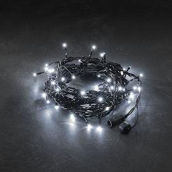 Konstsmide 31V System Ljusslinga 5m, Vit, svart kabel