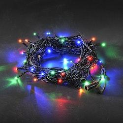 Konstsmide 31V System Ljusslinga 5m, Flerfärgad, svart kabel