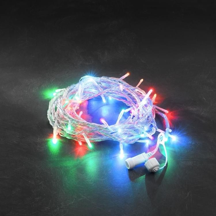 Konstsmide 31V System Ljusslinga 5/10m, Flerfärgad, transparent kabel