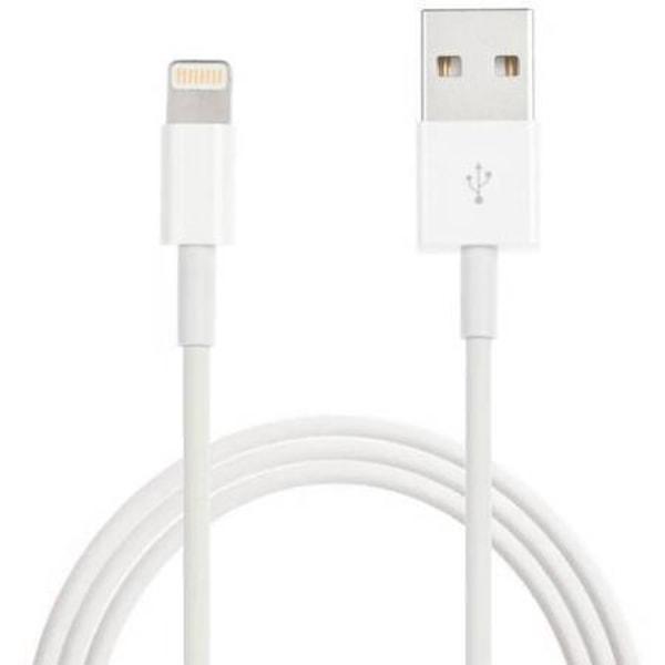 2m Lightning kabel för både laddning och överföring