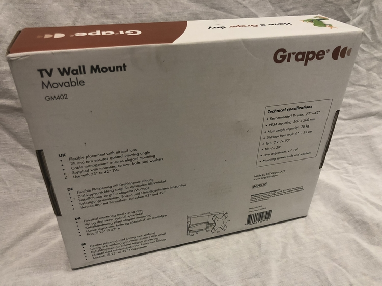 "Tv fäste snurrbart 23""- 42"" Grape GM402"