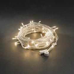 Konstsmide 31V System Ljusslinga 5/10m, Amber, transparent kabel