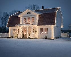 Konstsmide 31V System Snöflingor 4m varmvit LED  IP44