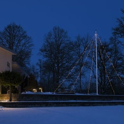 Konstsmide Flaggstångsslinga 5x100 LED / 5x11m IP44