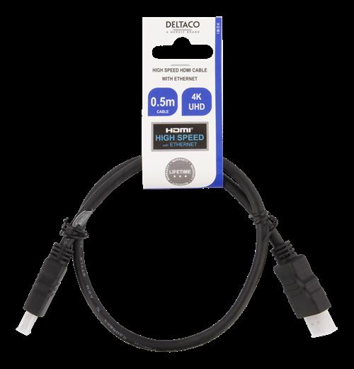 HDMI kabel, svart