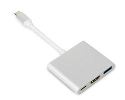 USB-C adapter till HDMI /  USB-A / USB-C