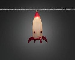 Konstsmide ljusslinga, 8st Raketer , 220v