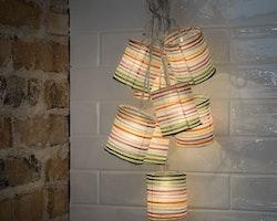 Konstsmide ljusslinga, 8st Lanternor , 220v