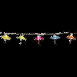 Star Trading, Ljusslinga Paraply, Batteridriven