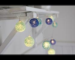 Star Trading, Ljusslinga Jolly light mini, Blå