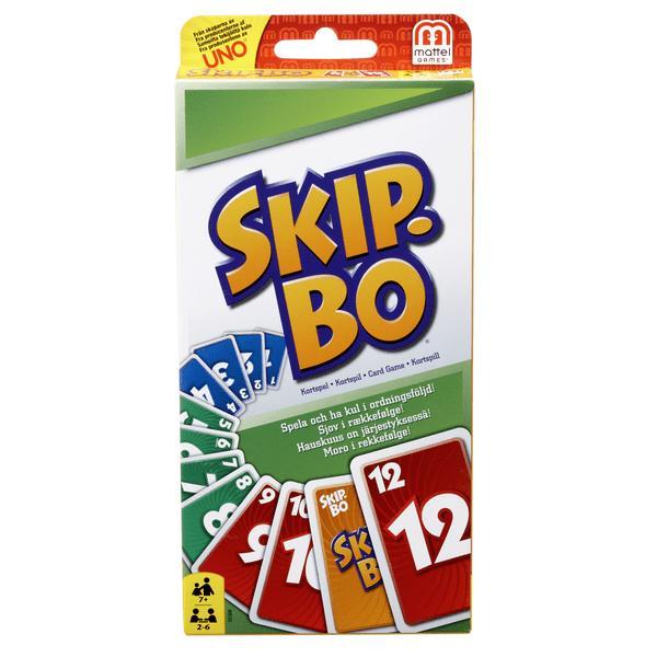 Skip-Bo Kortspel