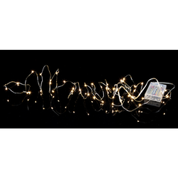 Star Trading, ljusslinga Dew Drop, 4m Batteri