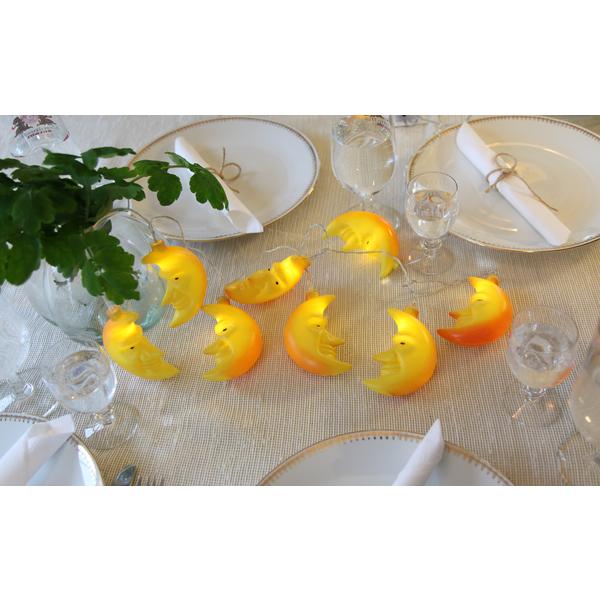 Star Trading, Ljusslinga Crayfish Party, Måne
