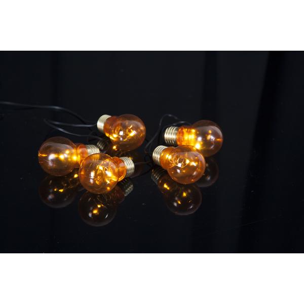 Star Trading, Ljusslinga Glow Amber, Batteri