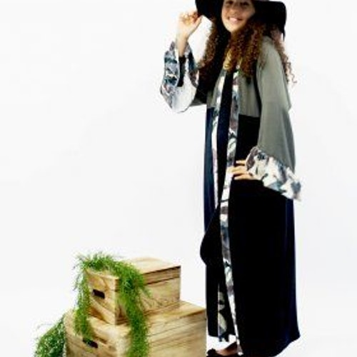 Abaya Kimono Kamouflage