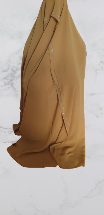 Chiffon Rhinestone  Hijab