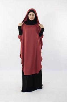 Salam young set med integrerad hijab och huva