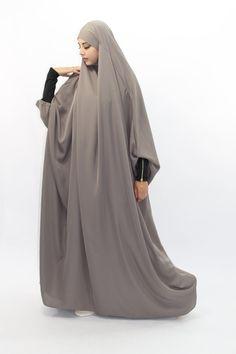 Imane Jilbab med zipper arm