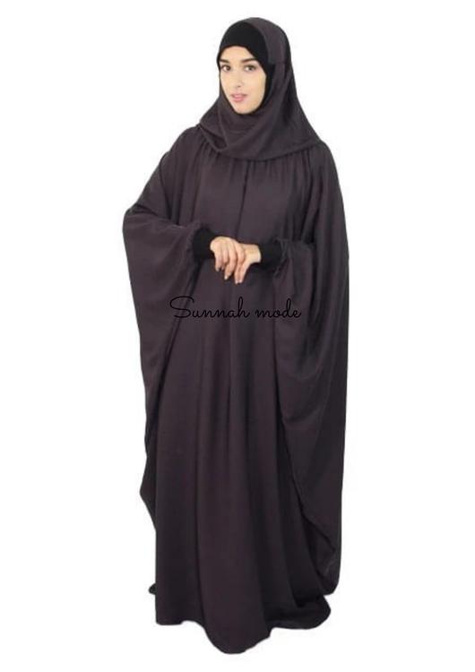 Jilbab klänning 2 I 1