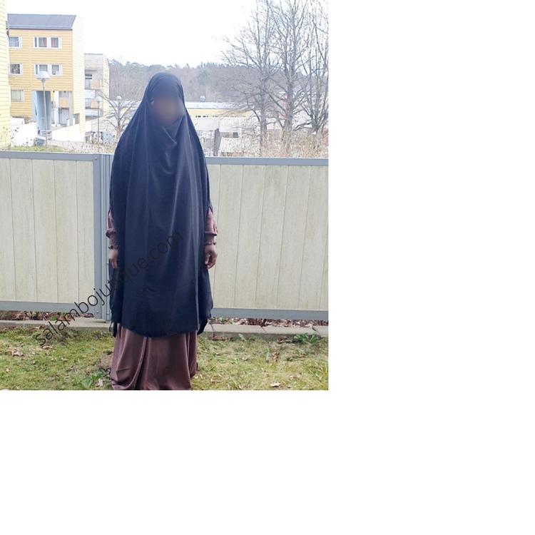 Khimar Amira med hoole