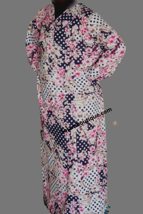 Blommig kläning-BK6113